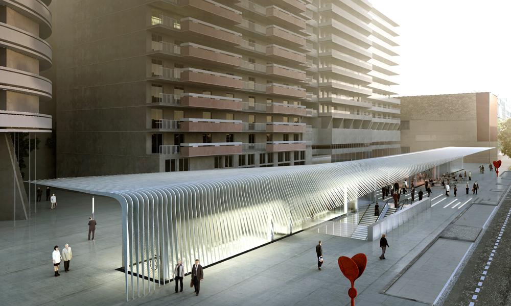 Gare de maison blanche atelier novembre for Architecte de la maison blanche