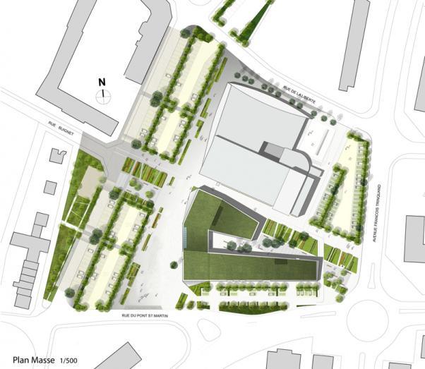 M diath que jean pierre vernant atelier novembre for Plan masse architecture