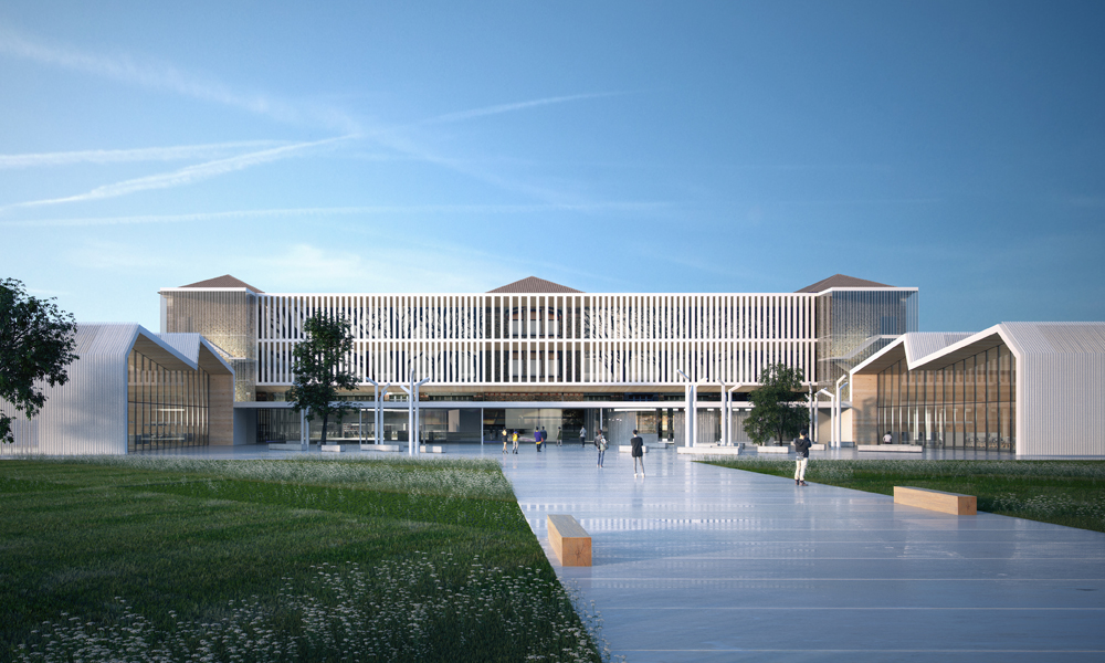 Lyc e professionnel adolphe ch rioux atelier novembre for Idf architecture
