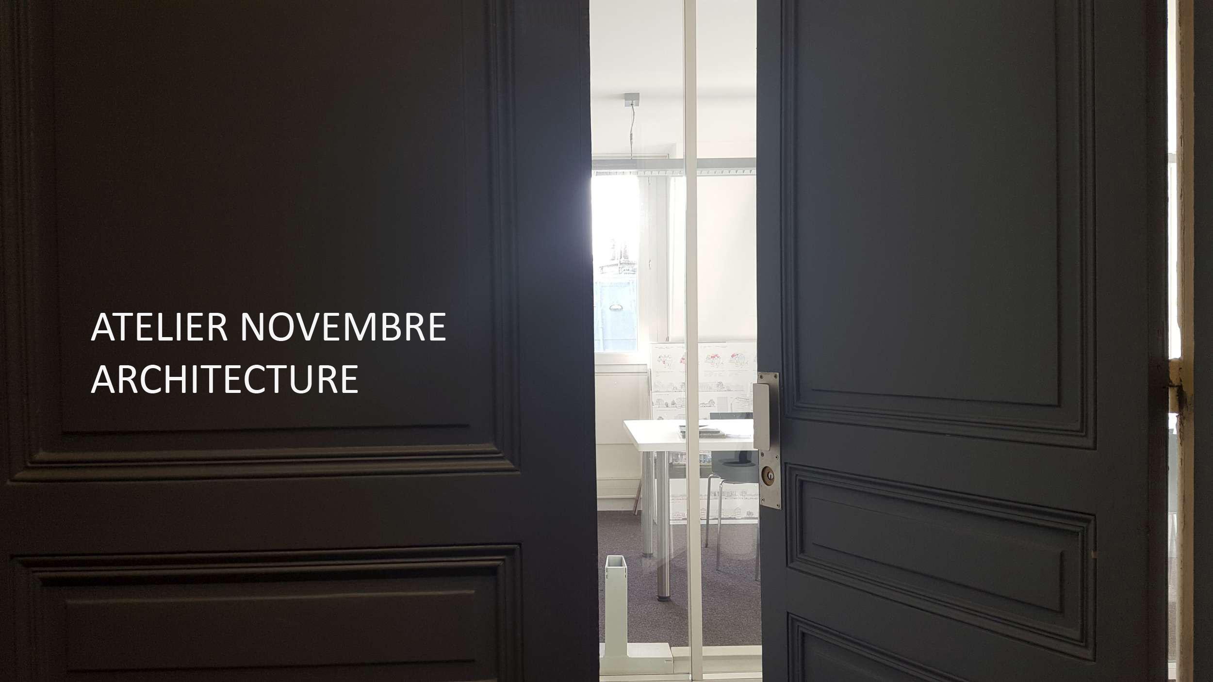 atelier novembre  u2013 architecture